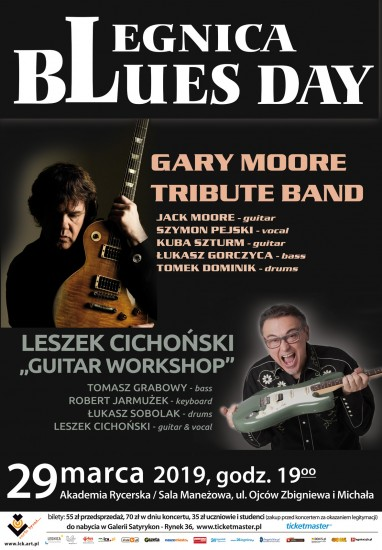 koncert Gary Moore Tribute Band