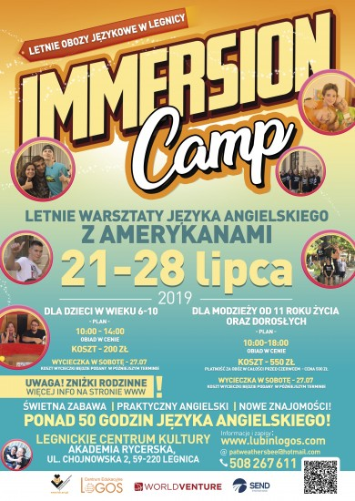 Warsztaty Immersion Camp
